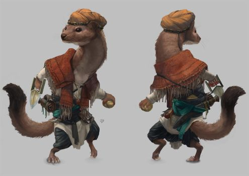 Weasel (Process Video Included) by Windmaker