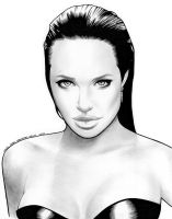 Angelina Jolie Comission 06 by miguelangelh