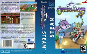 Freedom Planet Steam boxart variant by Gx3RComics