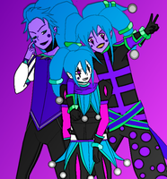 The 3  versions of pop by GrimaceJester