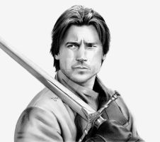 Jaime Lannister King Slayer by troydodd