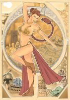 Leia-Mucha Style by palerider12