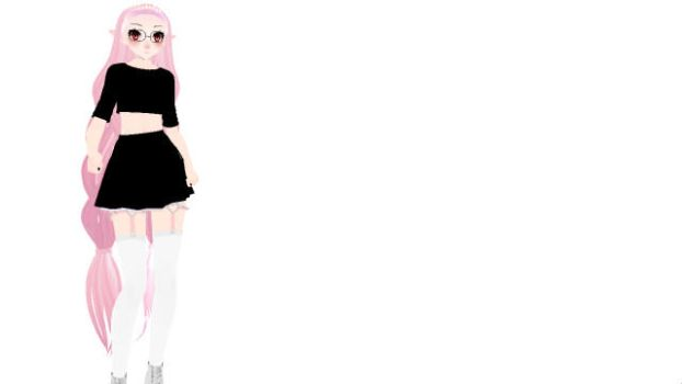 Lavender | Some random model ? by Alex-MMD-Studios