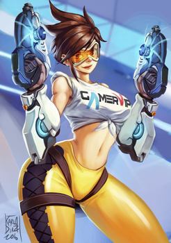 COVER - Tracer - by KarlaDiazC