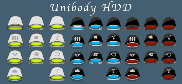 Unibody HDD by sntxdesign