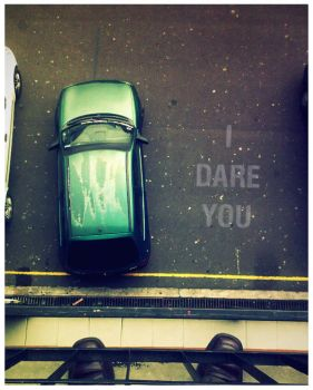 I dare you by mauricioestrella