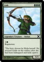 Link Magic: The Gathering Card by TheBlastoise