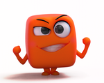 Zbrush Doodle: Day 1301 - Vermilion Cube by UnexpectedToy