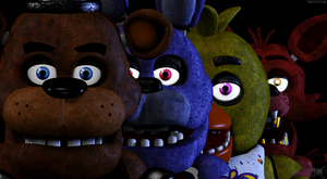 Five Nights at Freddy's New (SFM FNAF) by TheSitciXD