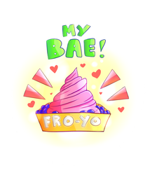 My Bae (Frozen Yogurt) by NerdyButSweet