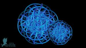 Tangled Celtic Knot Spheres by Lynxette79