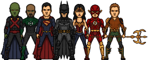 Justice League project V2.0 by LoganWaynee