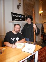 Harry Dresden with Jim Butcher by PirogoethsCosplay