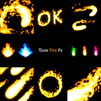 Toon Fire fx by Sin-Amber