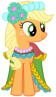 Royal Wedding: Applejack by JennieOo