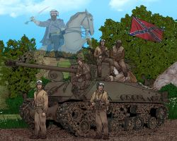 The Haunted Tank by Rathskeller7
