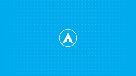Arch Linux dotted wallpaper by Seninhaa