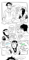 Billy meets Loki by GiselleRocks
