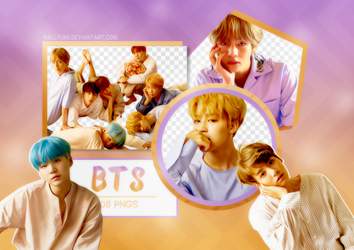 PNG PACK: BTS #19 ('HER' L version) by Hallyumi