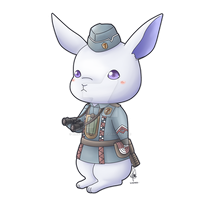 Commission - Chillyrabbits by Kirara-CecilVenes