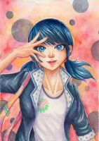 Miraculous Marinette by SabrieI