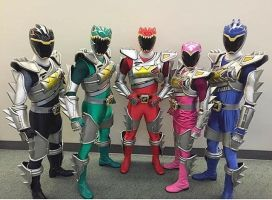 Power Rangers Super Dino Charge. by Eddmspy