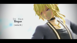 [MMD + Motion DL] It Has Begun by ureshiiiiii