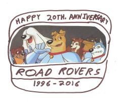 Road Rovers 20th. Anniversary by dth1971