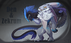 [CLOSED] Adopt Auction - DEN and ZEKRUM by Terriniss