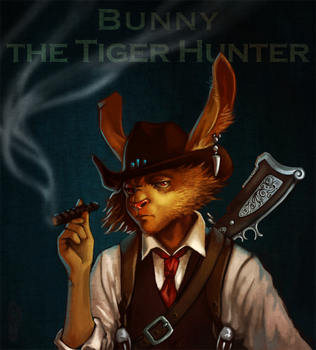 Bunny The Tiger Hunter by FluorineSpark