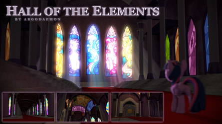 Hall of the Elements Map v2 [SFM Resource] by argodaemon