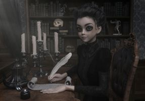 A Victorian Creepy Fairytale 001 by SirTancrede