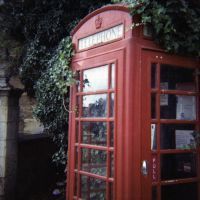 Red Telephone Box by JackShelbourn
