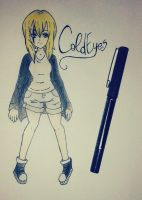 ColdEyes { Creepypasta Oc } by BlackEmii
