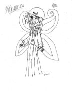 Athena...uncolored XD by Candy-Ice