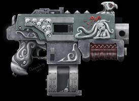 The Artificer's Bolter by MistyMiasma