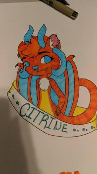 a cute badge for Amethyst by TragicKiwi