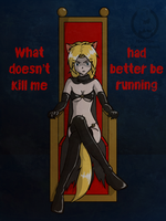 What doesn't kill her by mandalorianjedi