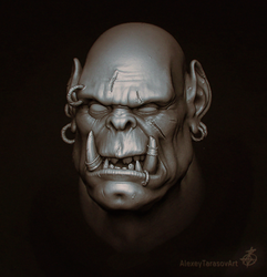 Blind Orc by Sketcher730