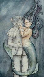 The Mermaid and her Prince by Lamorien