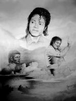 Micheal Jackson 1985 by Valnor
