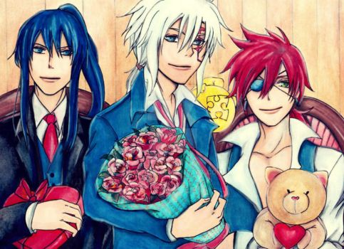 D Gray Man Valentine by Vision-Artz