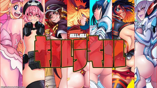 Kill la Kill Wall by DarkerEve