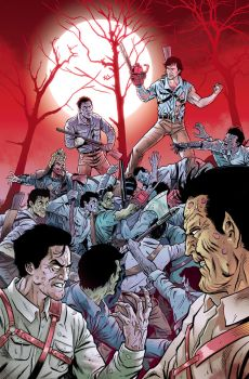 Ash Vs. The Army of Darkness #05 Cover COLORS by PencilInPain
