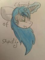 The Element Of Stupidty by GameyGemi