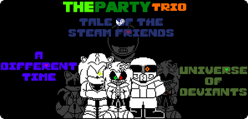 [BAD TIME TRIO AU] The Party Trio art cover by SMG69