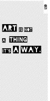 ART IS A WAY FB Prof. Pict. by lysergicstudio