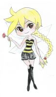 Bumblelina by Melody-in-the-Air