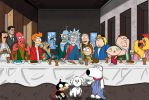 The Last Supper:  Animation Domination by darlinginc