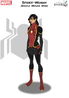 Spider-Woman by Kyle-A-McDonald